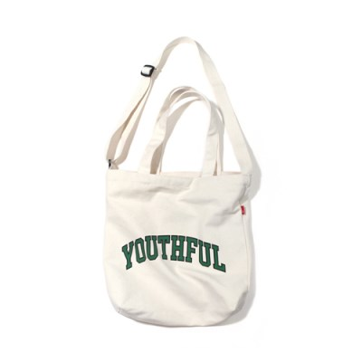 ARCH YOUTHFUL 2WAY BAG-IVORY.GREEN