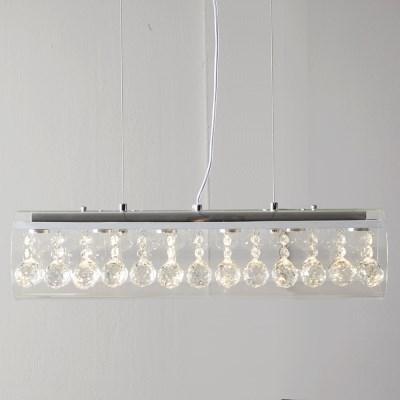LED 클린트 샹들리에조명(색온도3000K노란불)