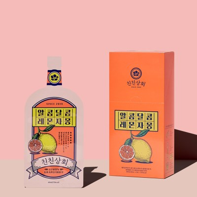 [친친상회] 알콤달콤 레몬자몽 (5개입)
