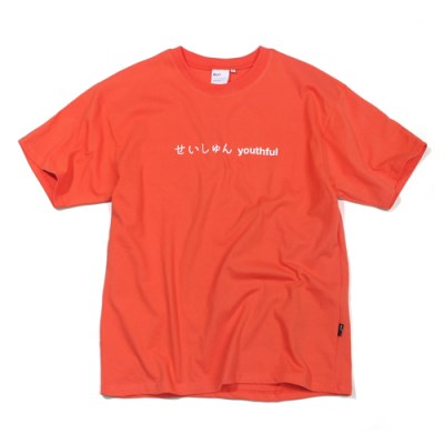 SEISHUNE T-SHIRT-PEACH
