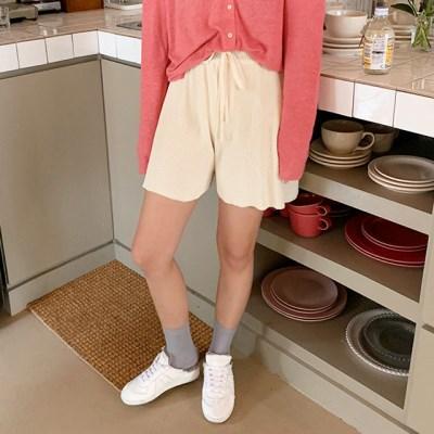 Bake golgi knit shorts_K_(1309628)