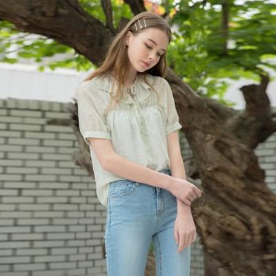 [클렛] NANA CHIFFON BLOUSE MINT