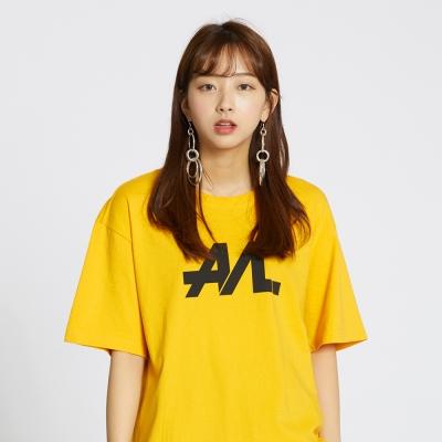 Simple Logo Tee - Signal Yellow