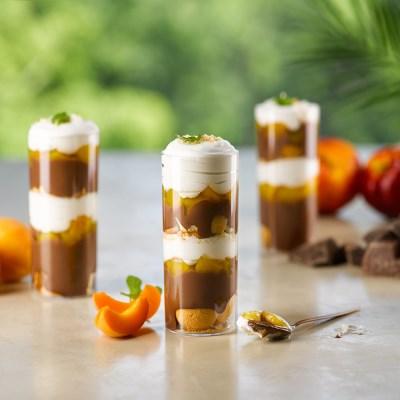 피나포레 초콜릿 푸딩 파르페 만들기 DIY 홈베이킹 쿠킹박스