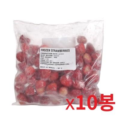 냉동-맥그로우앤마리 점보 딸기 1kg 10개묶음_(826495)