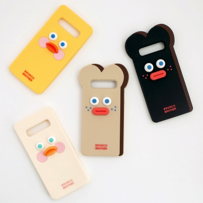 Brunch Brother 실리콘 케이스 for Galaxy S10, S10Plus,S10 5G