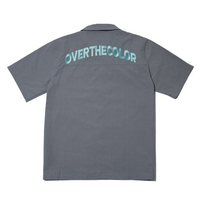 PIGMENT EMBO POINT SHIRTS GRAY