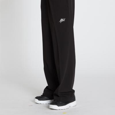 Wide Banding Pants - Black
