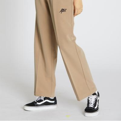 Wide Banding Pants - Beige