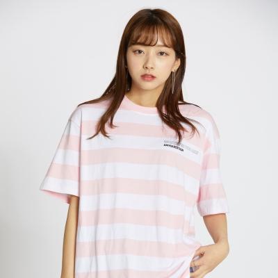 Stripe Tee - Pink