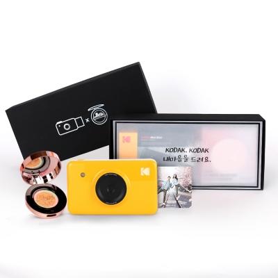 [단독] 코닥 휴대용 포토프린터 미니샷 + VT시카쿠션 (Black Box)