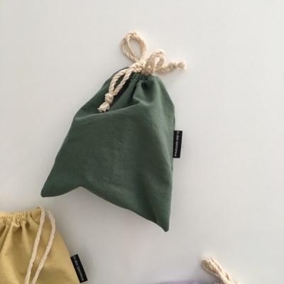올웨이즈 딥 그린 파우치(Always deep green pouch)