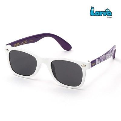 라바 키즈 선글라스 LV-5005 화이트/퍼플