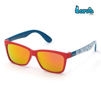 라바 키즈 선글라스 LV-5004 레드/블루