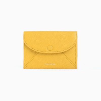 REIMS W019 Envelope Card Wallet Yellow