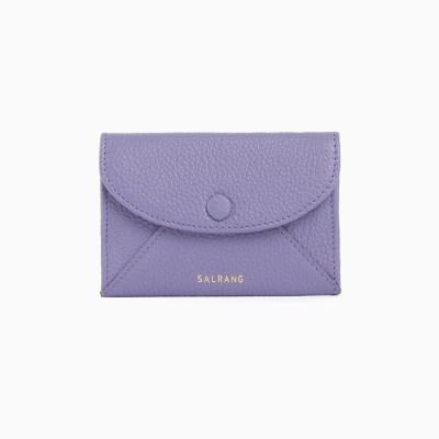 REIMS W019 Envelope Card Wallet Lilac