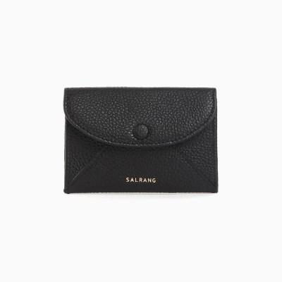 [재입고] REIMS W019 Envelope Card Wallet Black