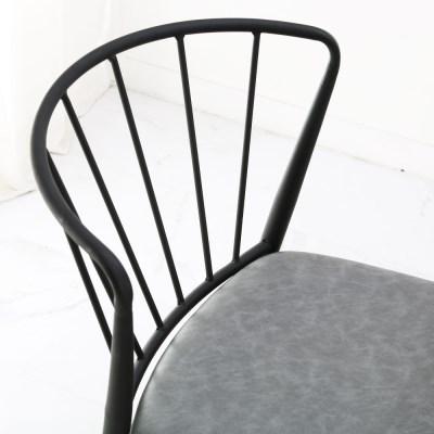 팬체어- 식탁의자 블랙체어  카페의자 인테리어의자 디자인의자