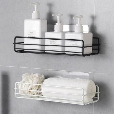 접착식 스틸 와이어 욕실 주방 선반