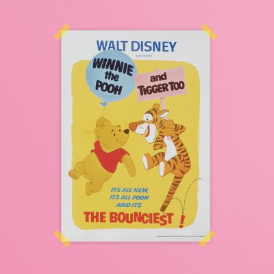 디즈니 인테리어 포스터 - 위니더푸 3종
