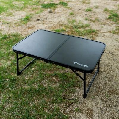 지오프리 하이랜드 블랙 캠핑 미니 테이블 GF619001 휴대 탁자