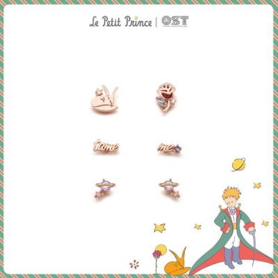 [어린왕자XOST] 여우와 장미행성 패키지귀걸이 OTE619601APW
