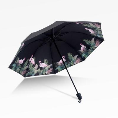 플라밍고 UV차단 수동 우산 양산
