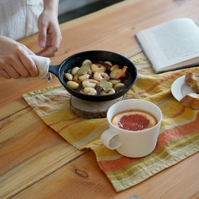토피 린넨 티타올 : Toffee linen tea towel
