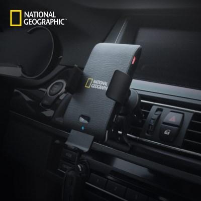 내셔널지오그래픽 차량용 음성인식 고속 무선 충전기