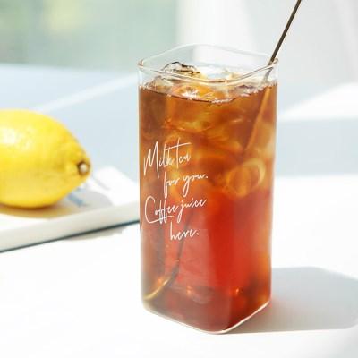 [티도요]내열유리컵345ml(Milk Tea) 2개세트_(1785576)