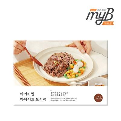 [마이비밀] 다이어트도시락 발아흑현미잡곡밥과 부드러_(1276664)