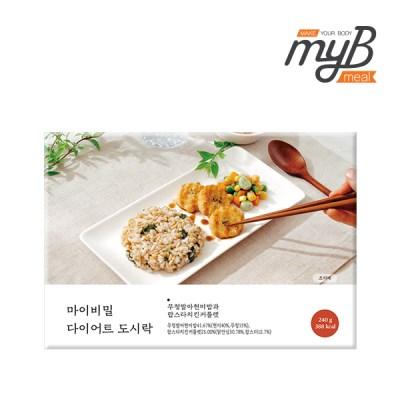 [마이비밀] 다이어트도시락 무청발아현미밥과 랍스타치_(1276657)