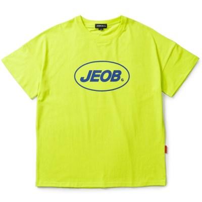 OVER FIT JEOB TEE LIME JBT00035-5