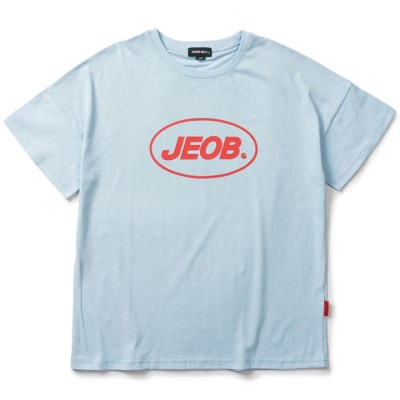 OVER FIT JEOB TEE BLUE JBT00035-2