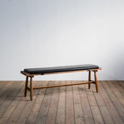 [리퍼브]렌토 원목 패드 벤치 1400
