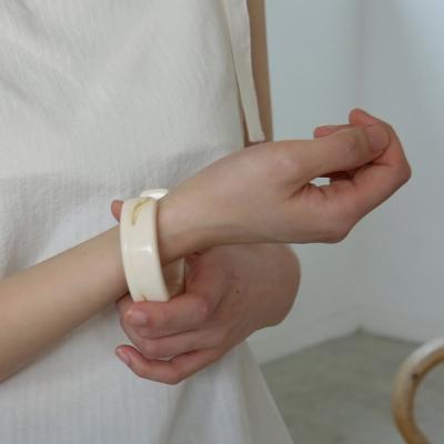 Marble cuff bracelet