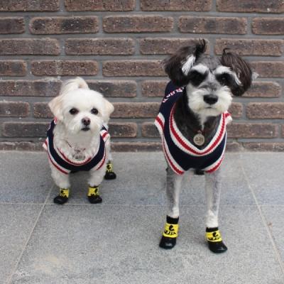 강아지 방수 양말 겸 신발 3color 애견 소형견 산책용 미끄럼 방지