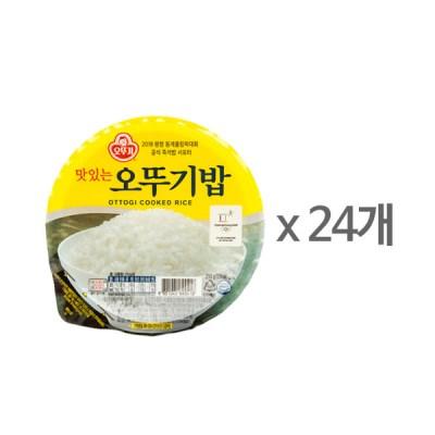 [오뚜기] 맛있는 오뚜기밥 (210g x 24)