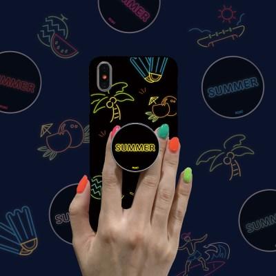 9C9C 썸머 네온썸머 슬림케이스 + 허브톡 (아이폰)