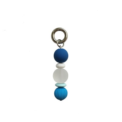 pure blue keyring