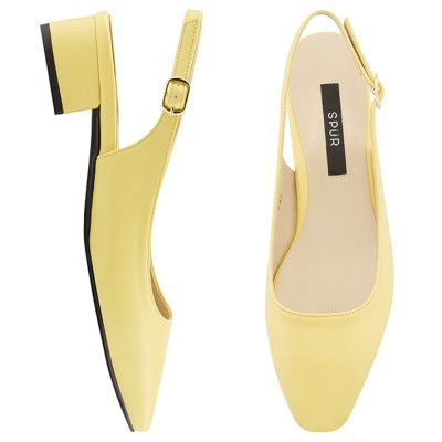 SPUR[스퍼] 슬링백  OS7094 Daily slingback 레몬