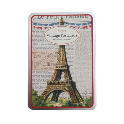Cavallini 엽서카드세트_paris