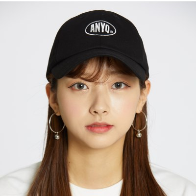 Anyq Ball Cap - Black