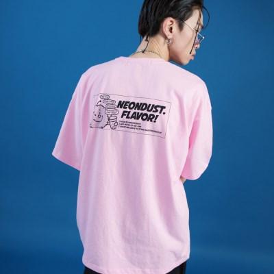 NEONDUST. DUSTY T-SHIRT Pink
