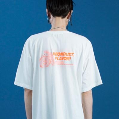 NEONDUST. DUSTY T-SHIRT White