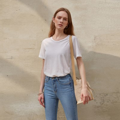 EASY U-NECK T-SHIRT_IVORY