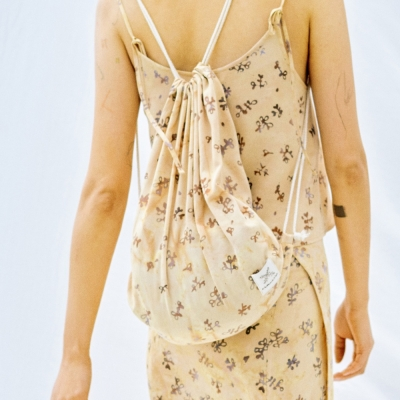 [String Bag] Berry - Beige