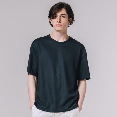 COOL 샤카리바 반팔 티셔츠 네이비_(3606043)