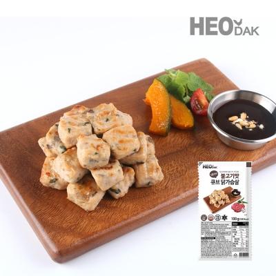 닭가슴살 큐브 불고기맛 100g 1+1