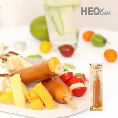 [허닭] 닭가슴살 소시지 후랑크 치즈 70g